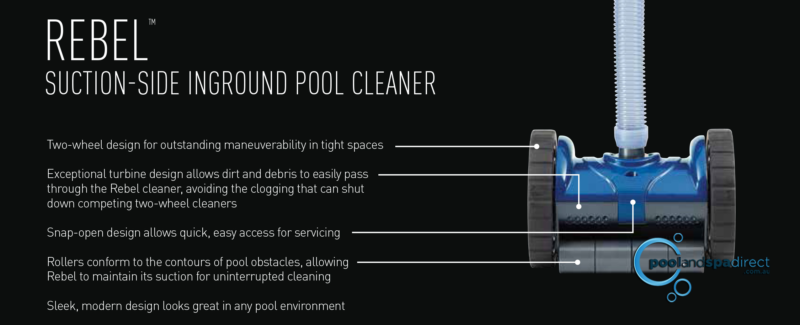 Cheapest Rebel Pool Cleaner