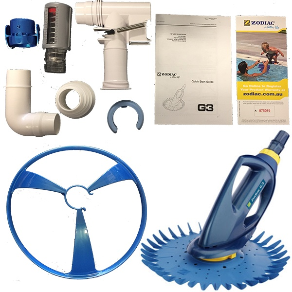 Pool And Spa Direct Zodiac G3 Pool Cleaner Head Only