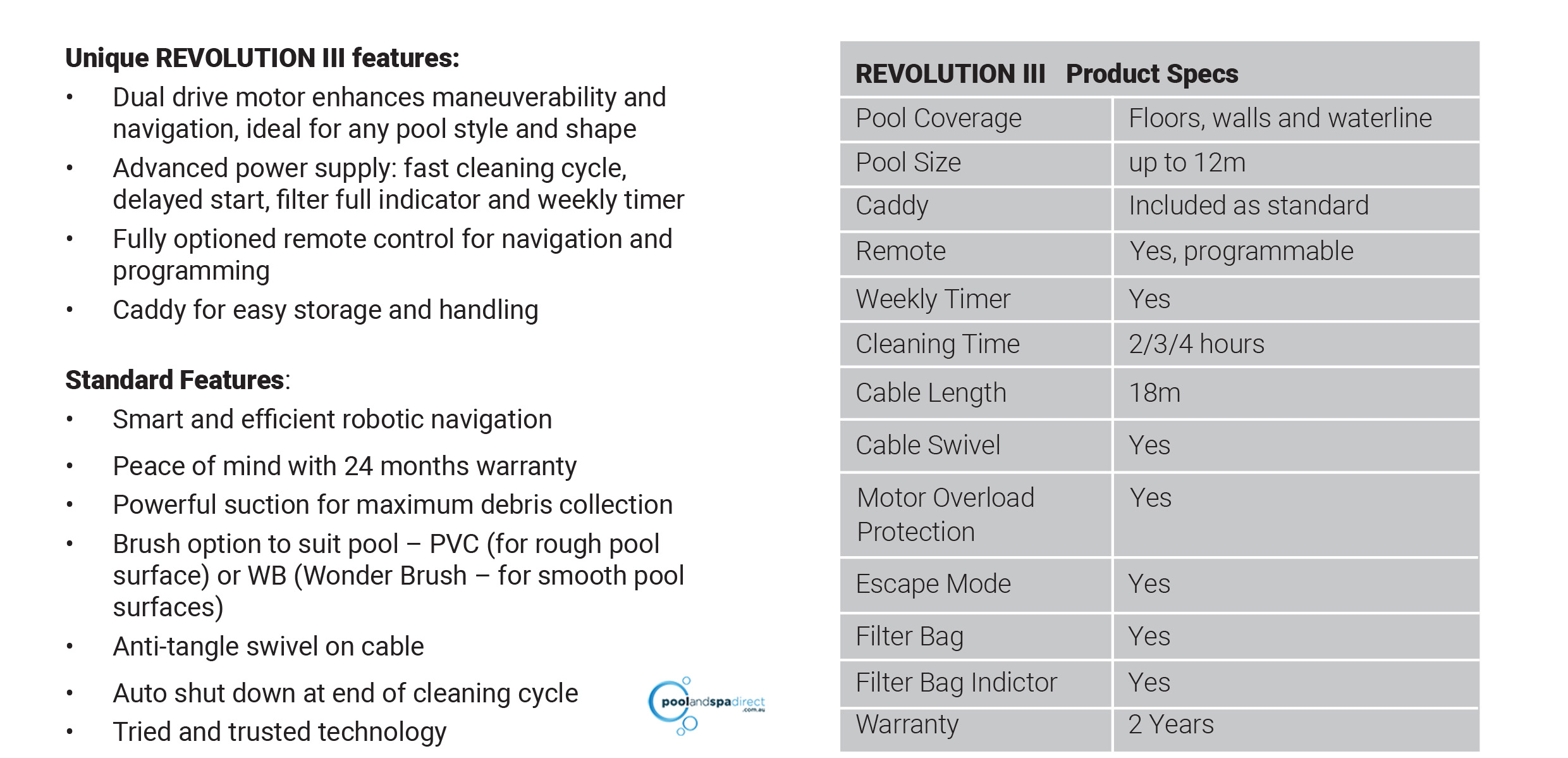 Spot Out Pool Cleaner Catfish Battery Powered Rechargeable